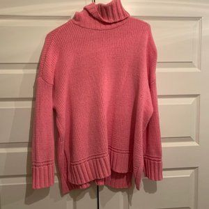 Aerie Springy Pink Chenille Sweater
